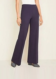 Ann Taylor Petite Knit Wide Leg Pants