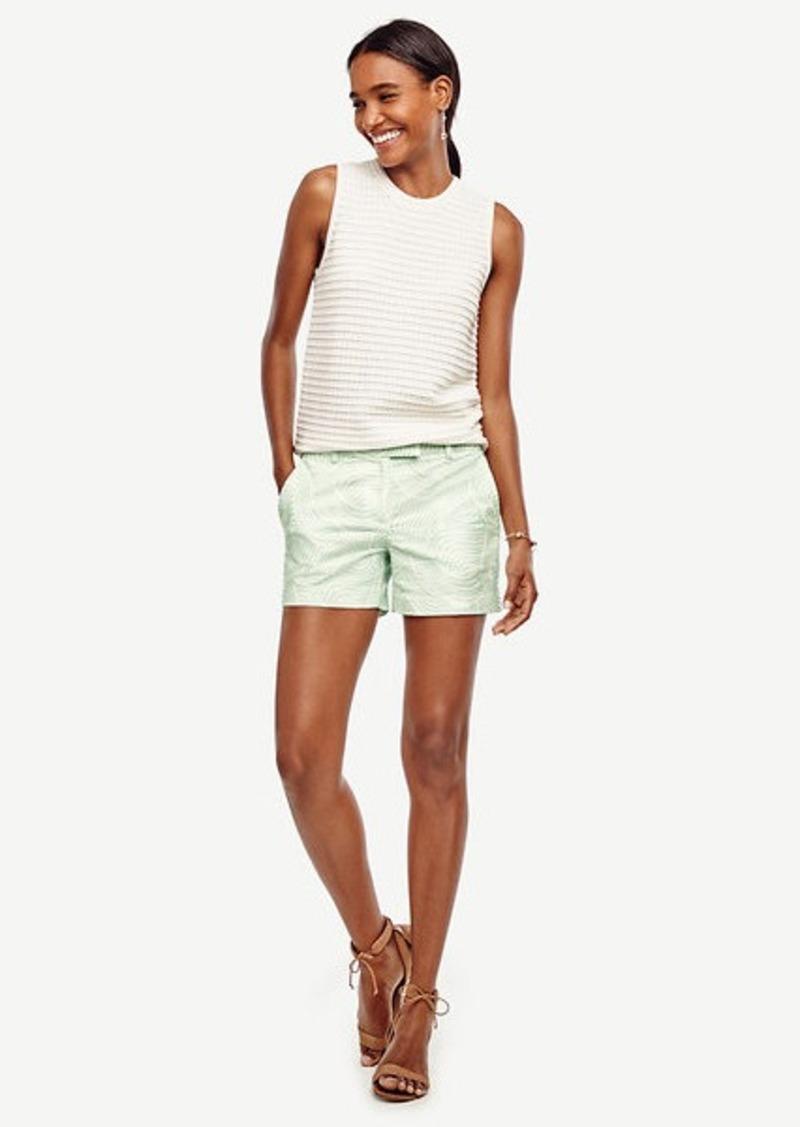 Ann Taylor Petite Wave City Shorts
