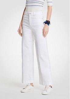 Ann Taylor Petite Wide Leg Jeans