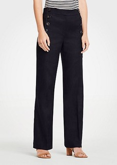 Ann Taylor Petite Wide Leg Sailor Pants