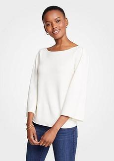 Ann Taylor Petite Wide Sleeve Sweater