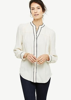 Piped Blouse