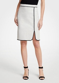 Ann Taylor Piped Pencil Skirt