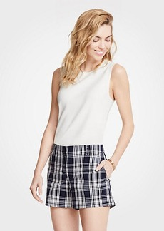 Ann Taylor Plaid City Shorts