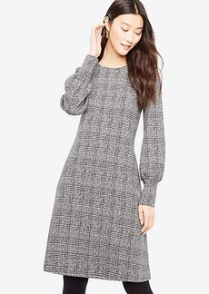 Plaid Cuffed Dress