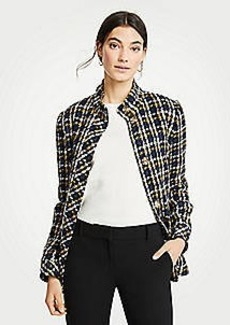 Ann Taylor Plaid Jacket