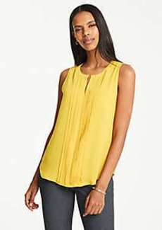 Ann Taylor Pleat Front Shell