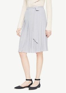 Ann Taylor Pleated Full Skirt