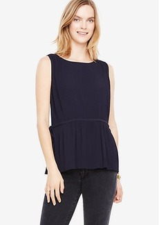 Pleated Side Tie Shell
