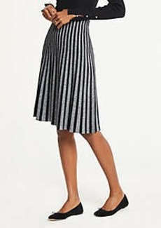 Ann Taylor Pleated Sweater Skirt