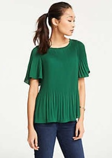 Ann Taylor Pleated Top