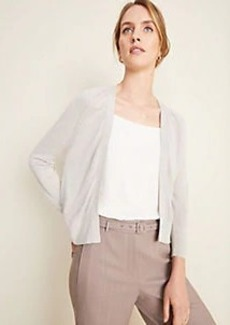 Ann Taylor Pointelle Dress Cardigan