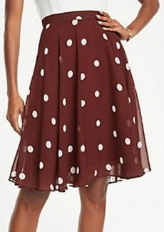 Ann Taylor Polka Dot Full Skirt