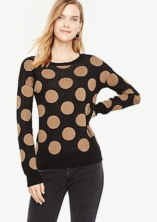 Polka Dot Shimmer Sweater