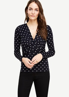 Polka Dot Twist Top