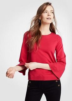Ponte Bell Sleeve Top