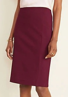 Ann Taylor Ponte Pencil Skirt