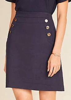 Ann Taylor Ponte Sailor Skirt