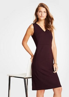 Ann Taylor Ponte Sheath Dress