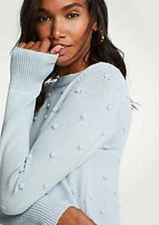 Ann Taylor Popcorn Stitch Sweater