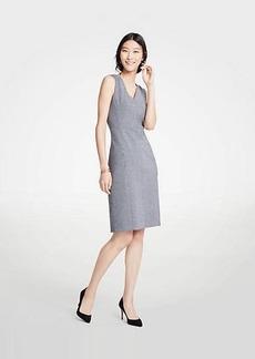 Ann Taylor Puppytooth Ponte Sheath Dress