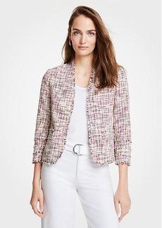 Ann Taylor Rainbow Tweed Jacket