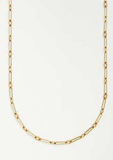 Ann Taylor Rectangle Chain Link Necklace