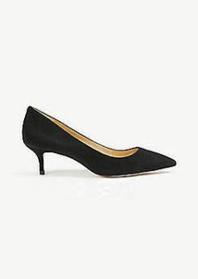 Ann Taylor Reese Suede Pumps