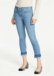 Ann Taylor Released Hem Skinny Jeans