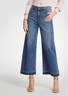 Ann Taylor Released Hem Wide Leg Jeans