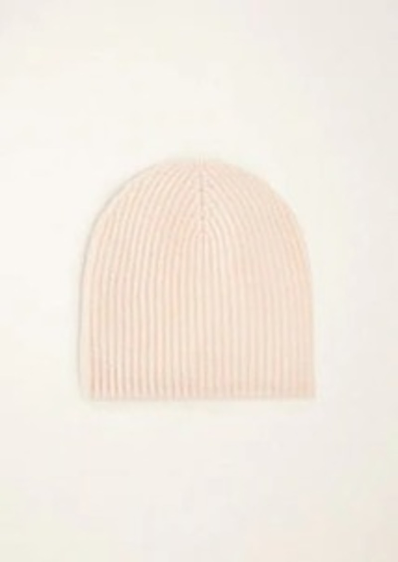 Ann Taylor Ribbed Cashmere Hat