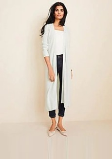 Ann Taylor Ribbed Duster Sweater