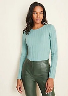 Ann Taylor Ribbed Stitch Sweater