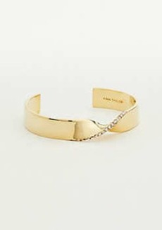 Ann Taylor Ribbon Cuff Bracelet