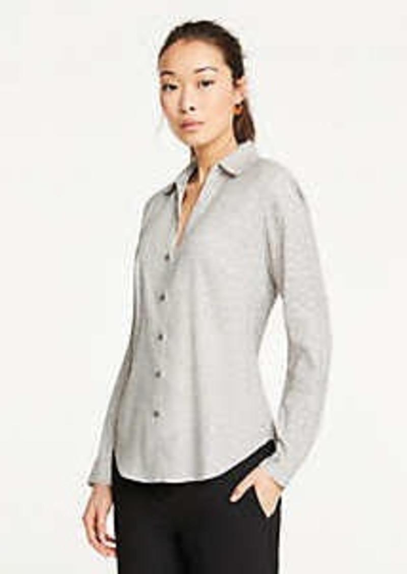 Ann Taylor Ring Toss Essential Shirt