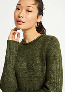 Ann Taylor Roll Neck Tunic Sweater