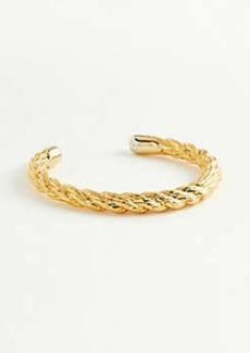 Ann Taylor Rope Textured Metal Bracelet