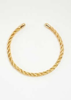 Ann Taylor Rope Textured Metal Collar
