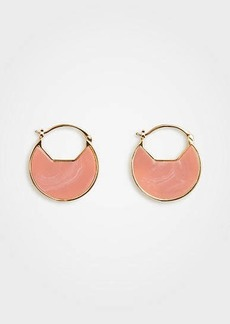 Ann Taylor Round Drop Earrings
