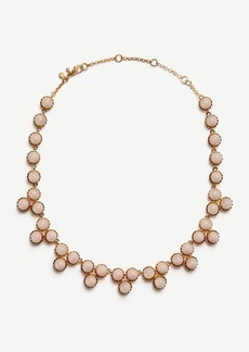 Ann Taylor Round Stone Necklace