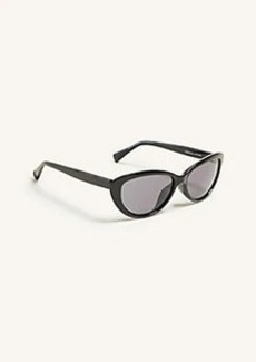 Ann Taylor Rounded Cateye Sunglasses
