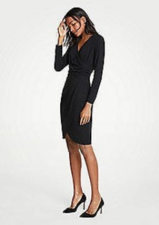 Ann Taylor Ruched Sheath Dress