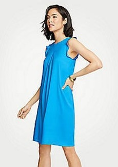 Ann Taylor Ruffle Shift Dress