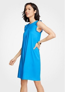 Ann Taylor Ruffle Shift Dress