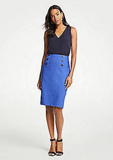 Ann Taylor Sailor Pencil Skirt