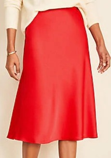 Ann Taylor Satin Skirt