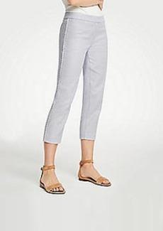 Ann Taylor Scalloped Capri Pants