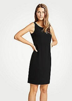 Ann Taylor Scalloped Sheath Dress