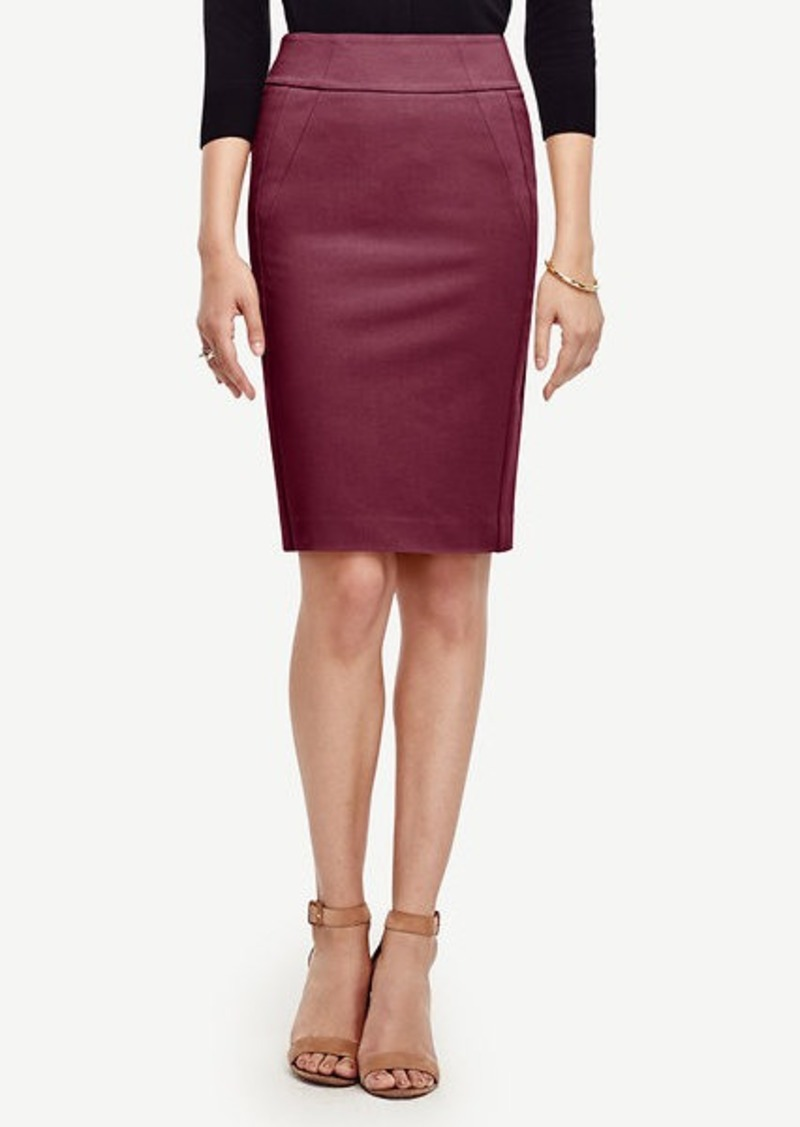 Ann Taylor Seamed Pencil Skirt