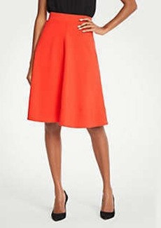 Ann Taylor Seamed Ponte Full Skirt